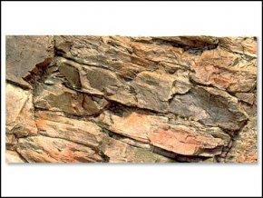 Pozadí akvarijní Rock   60 x 30 cm