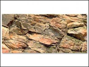 Pozadí akvarijní Rock   80 x 40 cm