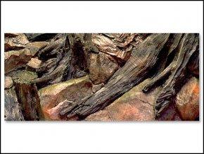 Pozadí akvarijní Root   80 x 40 cm