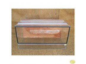Terárium agama malé | 80 x 40 x 40 cm s pozadím