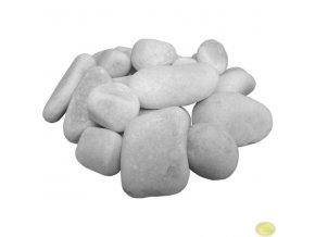 Kámen dekorační bílý 25 - 40 mm