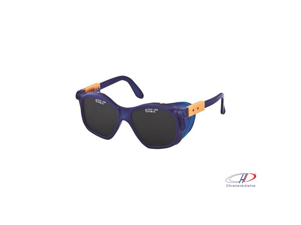 Okuliare B-B 40 SOSF, dymové, č.4 04