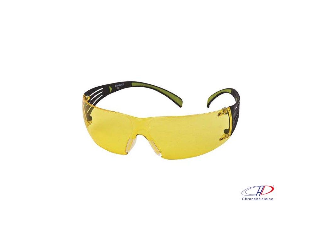 Okuliare SecureFit 400 - žltý PC priezor