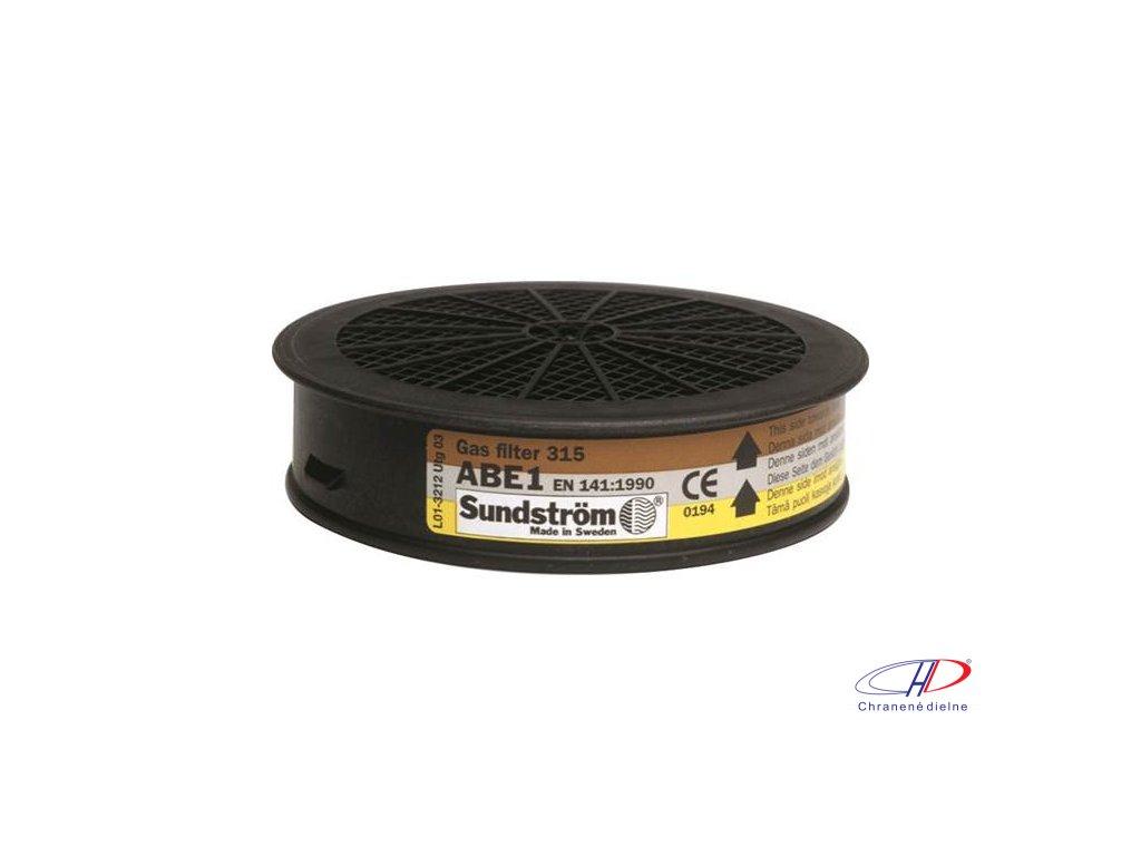 Filter SUNDSTRÖM SR 315 ABE1 - pre polomasky a celotvárové masky