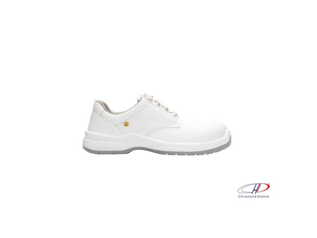 Obuv ARLOW WHITE S2 ESD 38
