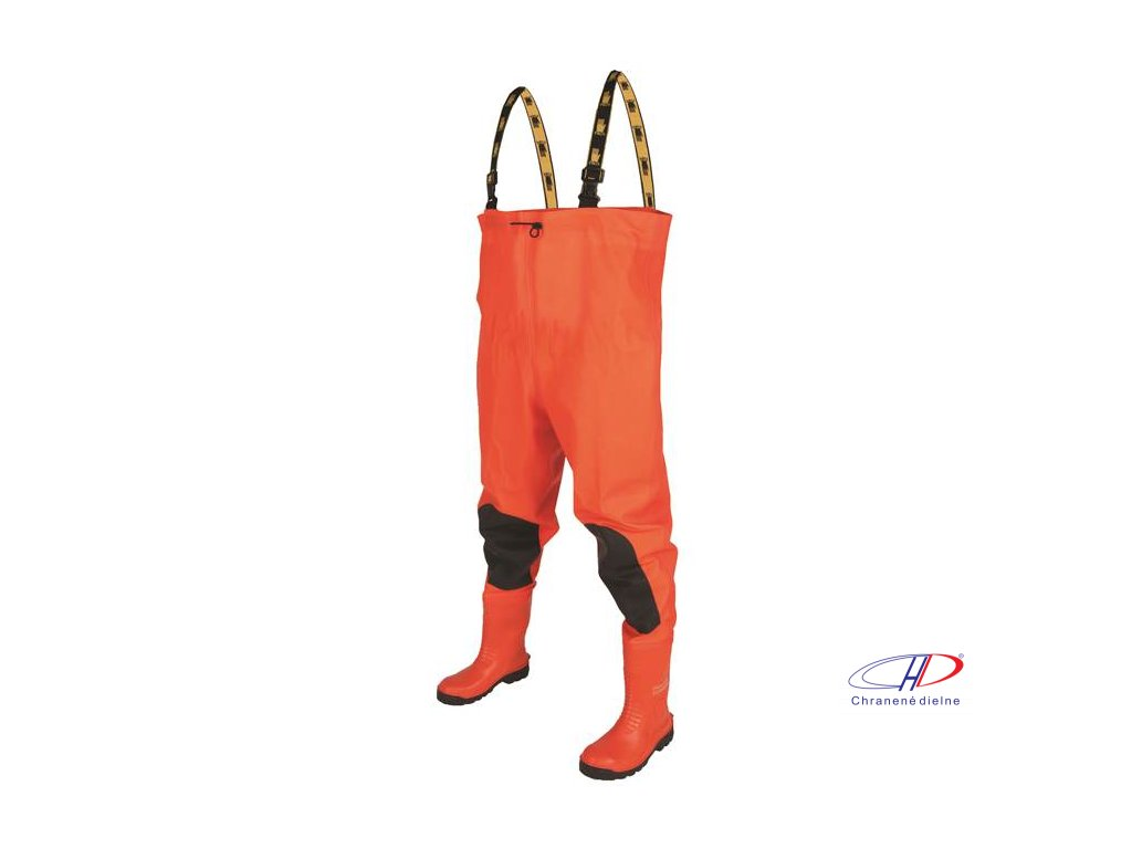 CHEST WADERS Max S5 Fluo orange 47