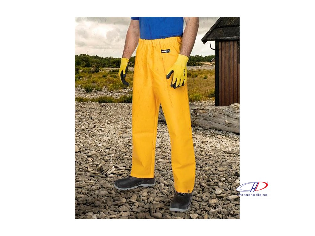 Nohavice do pása ARDON AQUA 112 žlté L