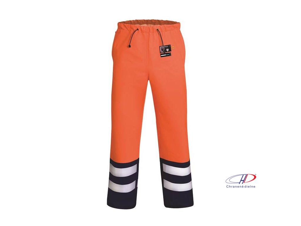 Nohavice do pása 512/A ARDON AQUA oranžové S