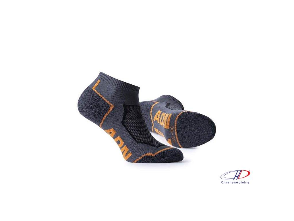 Ponožky ADN orange 36-38