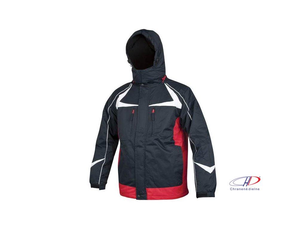 ARPAD páns. zim. bunda modro-červená M
