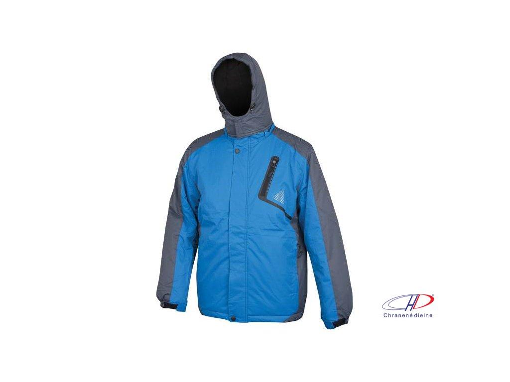 ALVIN páns. zim. bunda modro-sivá M