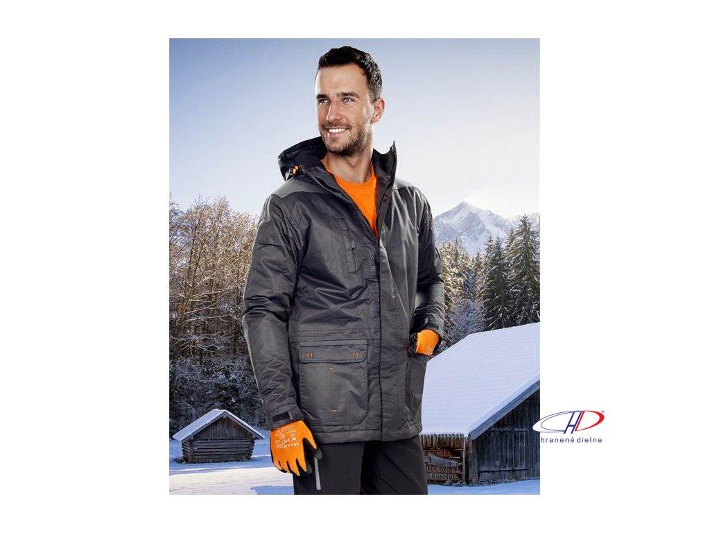BEN zimná bunda pánska čierna S