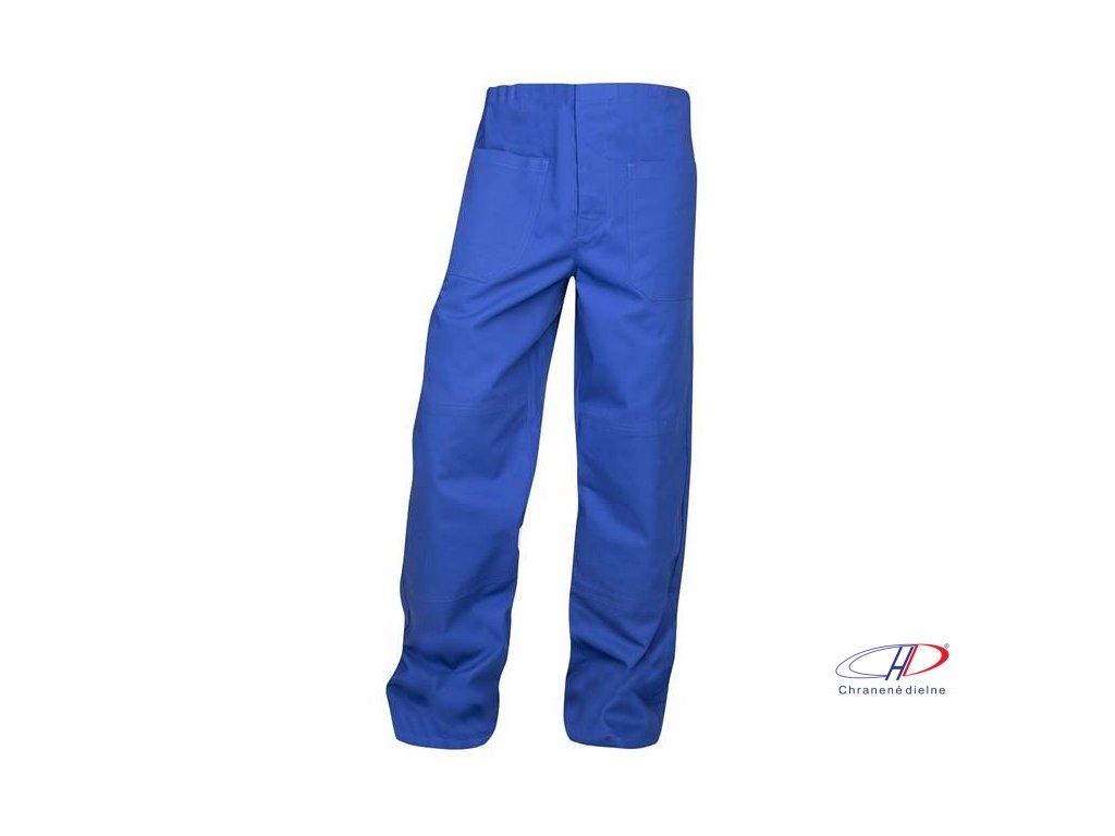 Nohavice do pása KLASIK stredne modré 56