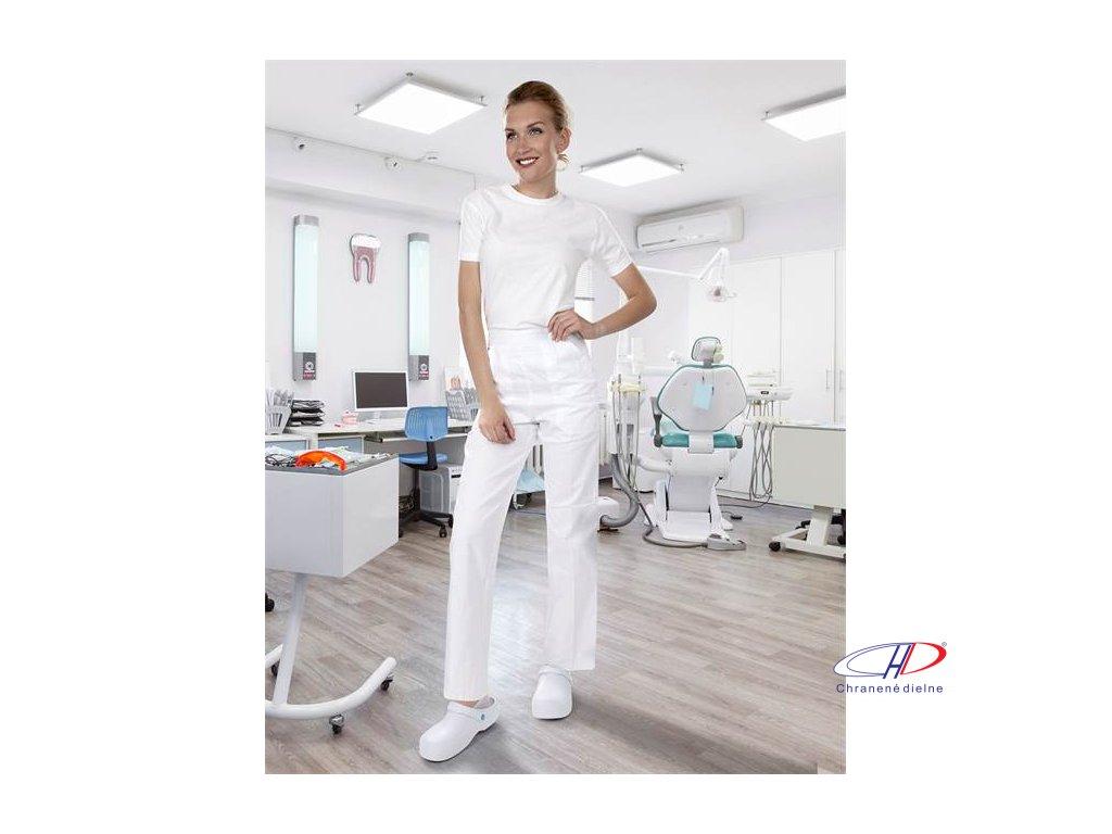 Nohavice dámske SANDER biele 52
