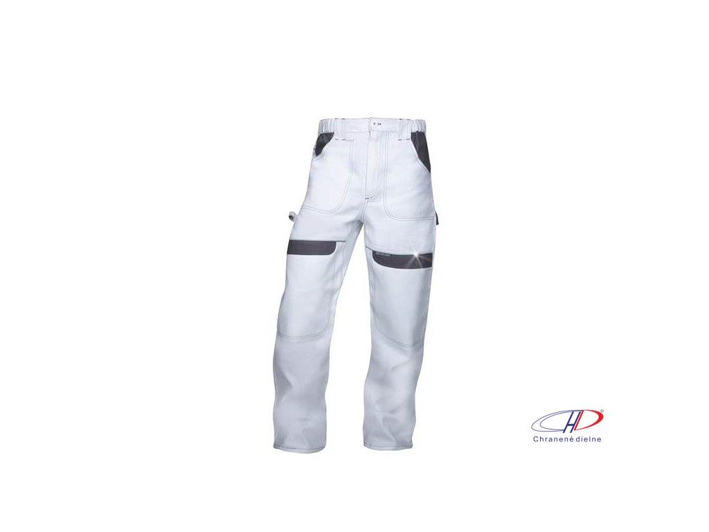 Nohavice do pása COOL TREND bielo-sivé 46