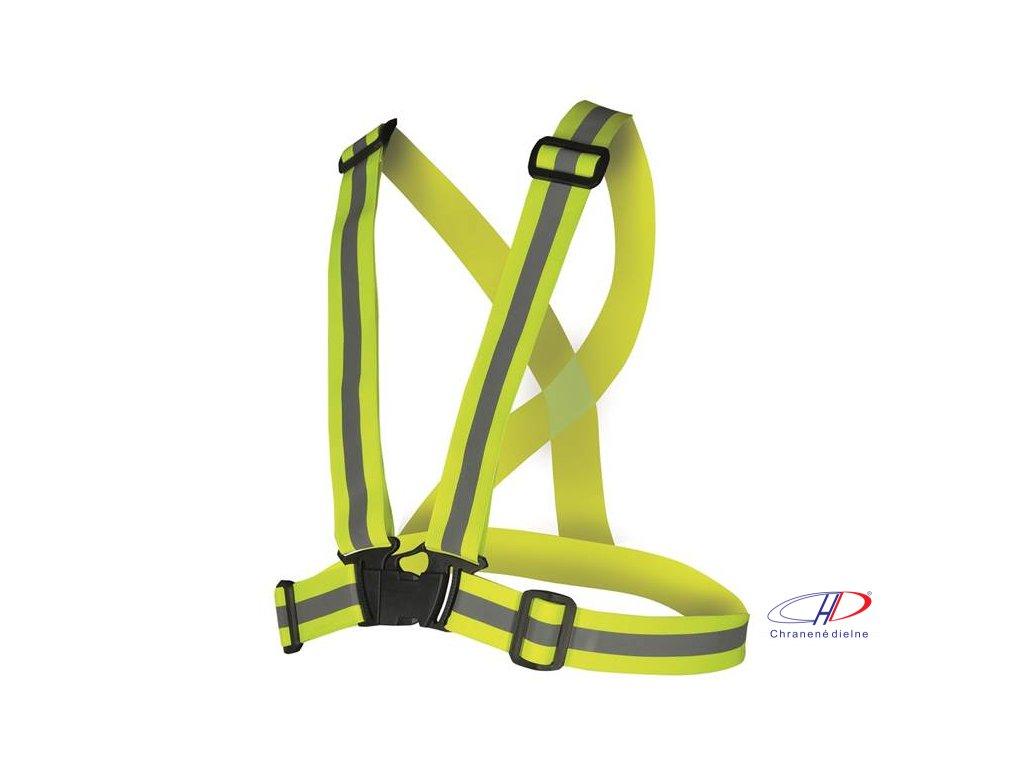 Kríž hi-viz žltý REF701
