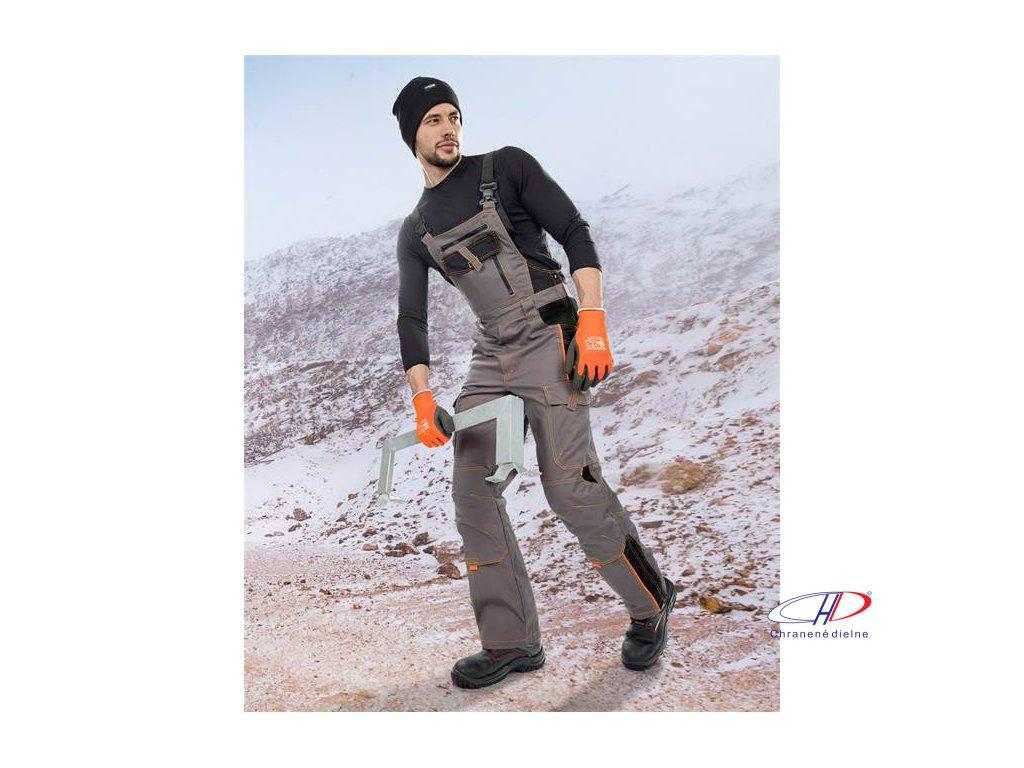 Nohavice s náprsenkou VISION 09, zimné L