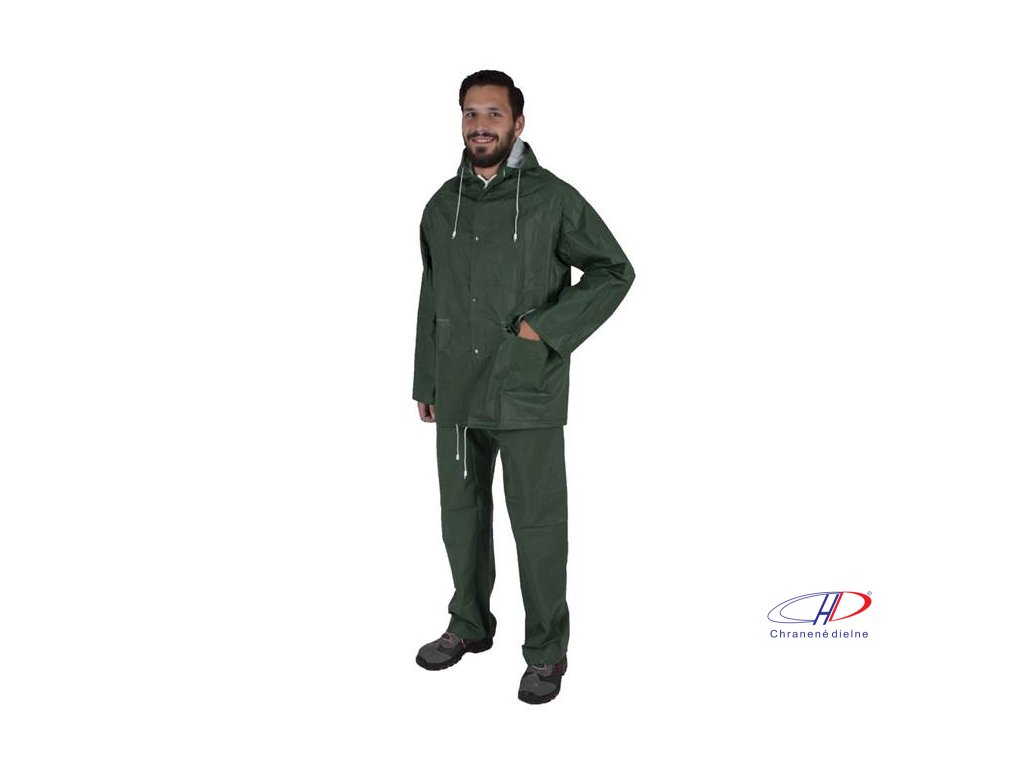 Oblek HUGO zelený L