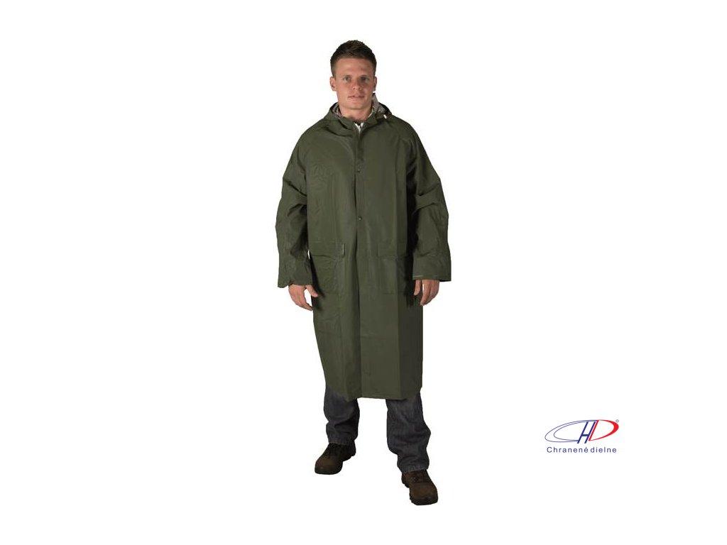 Plášť CYRIL zelený L