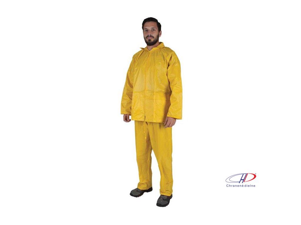 Oblek CLEO žltý L