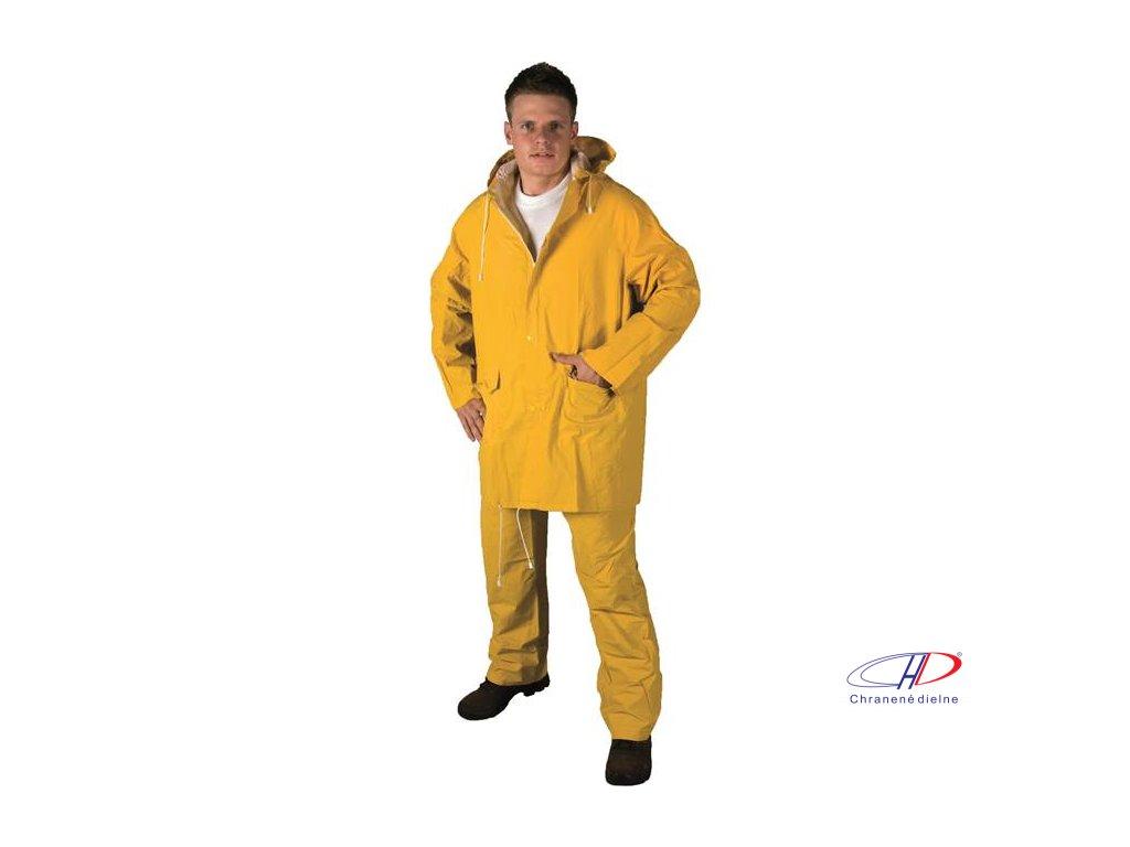 Oblek HUGO žltý L