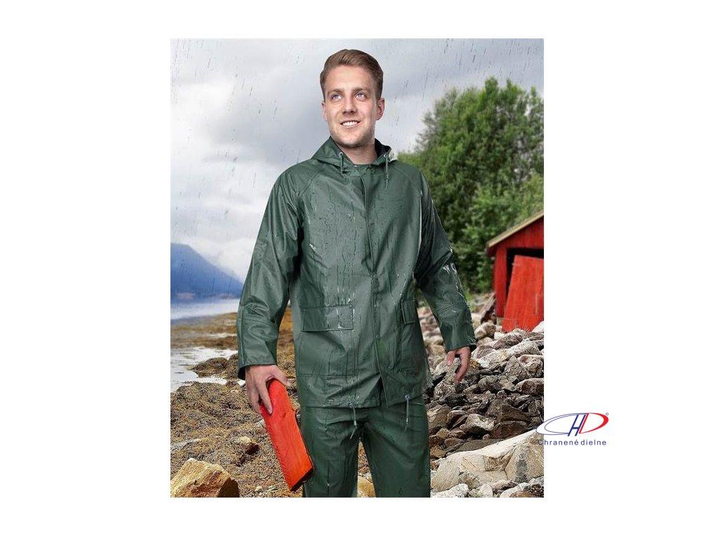 Oblek RAINMAN zelený M