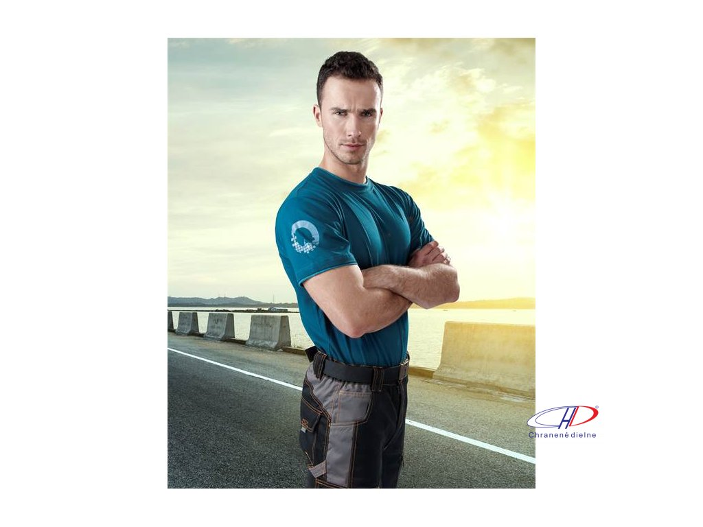 Tričko 4TECH blue S