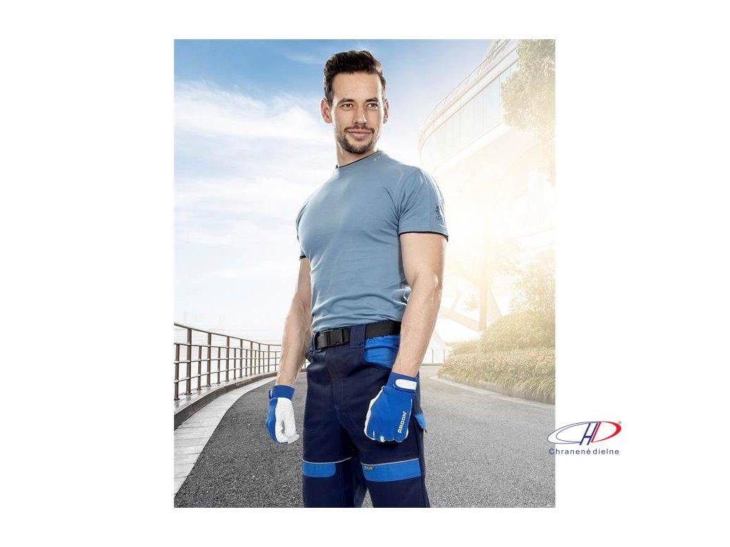 Tričko R8ED+ modré S