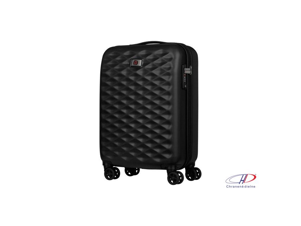 Cestovný kufor so 4 otočnými kolieskami , Black