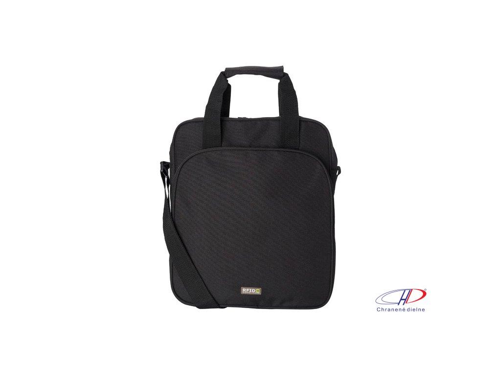 """Taška na 15"""" laptop z polyesteru , Black"""