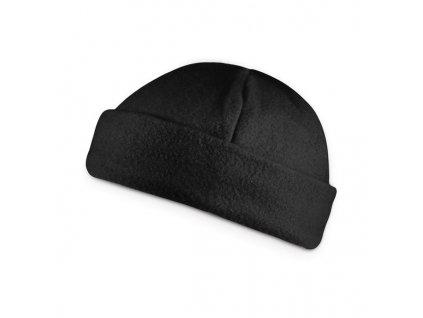 Flisová čiapka , Black