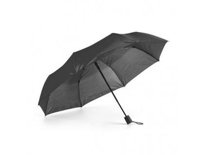 Automatický 2-dielny skladací dáždnik, priemer 98 cm , Black