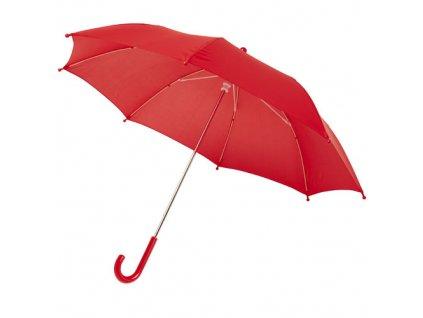 Vetruodolný dáždnik pre deti, priemer 77 cm , Red