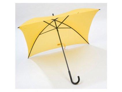 Štvorcový manuálny dáždnik , Yellow