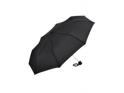 Alu Mini, skladací dáždnik, priemer 90 cm , Black