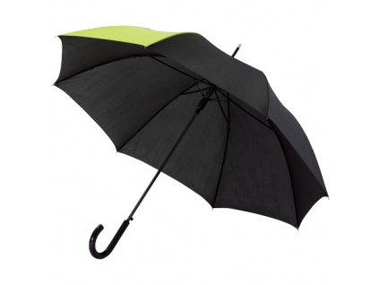 Automatický dáždnik, priemer 102 cm , neon green ,solid black