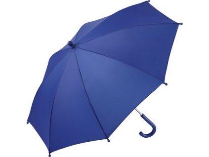 Manuálny detský dáždnik s bezpečným otváraním, priemer 73 cm , euroblue