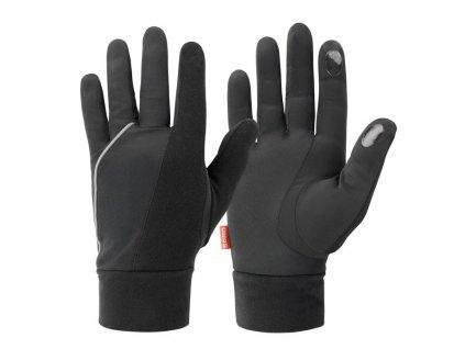 Elite Running Gloves , Black, S