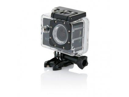 Akčná kamera s 11-dielnym príslušenstvom , Black