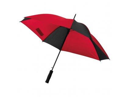 Atuomatický dáždnik dvojfarebný , red/black