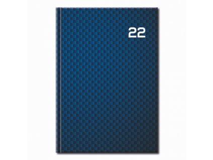 Denný diár A5 2022 - PRINT Blue