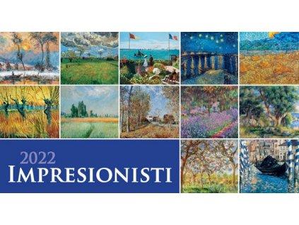 Impresionisti stolový 2022 - SG