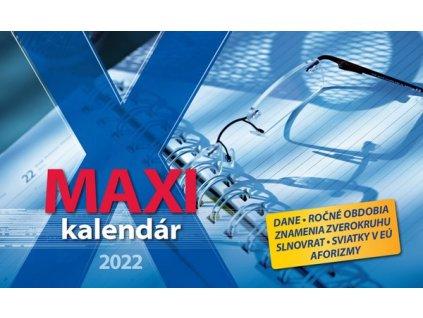 Maxi kalendár 2022 - SG