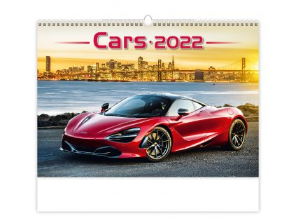 Nástenný kalendár, Cars