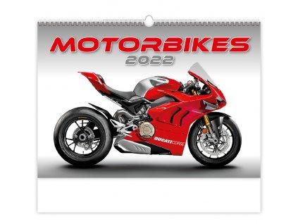 Nástenný kalendár, Motorbikes