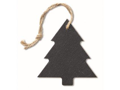 Bridlicový závesný stromček , Black