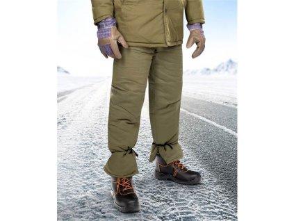 Nohavice vatované NICOLAS K, zelené L