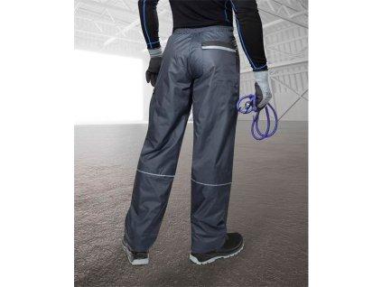 Nohavice do pása zimné LINO K, modré L