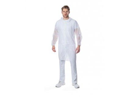 SPP plášť SYLVIE biely L