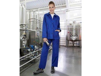 Nohavice do pása dámske KLASIK stredne modré 54
